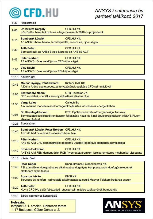 UGM 2017 program